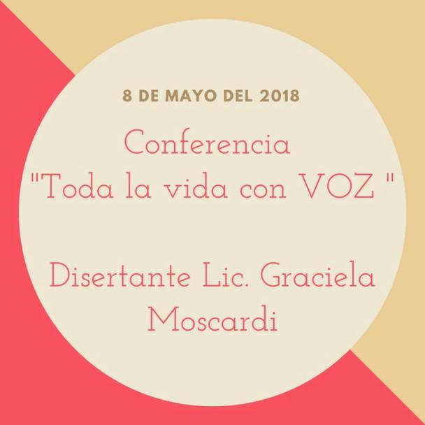 """Conferencia """"Toda la vida con VOZ"""""""