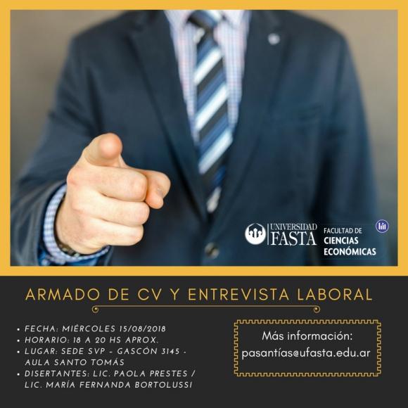 Armado de CV y Entrevista Laboral