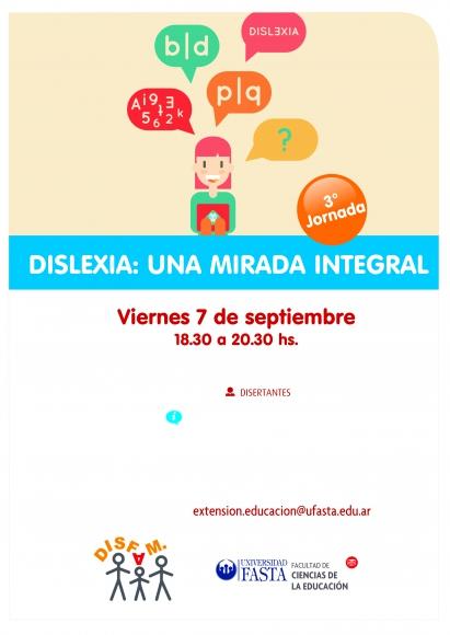 3ra. Jornada sobre Dislexia : Una Mirada Integral