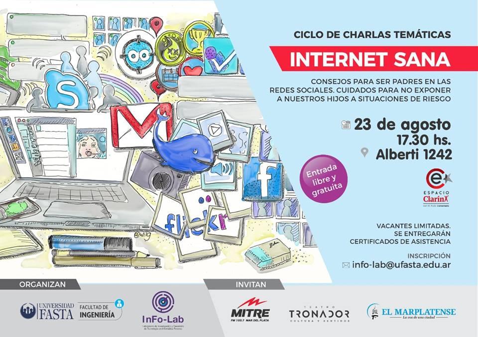 Ciclo de charlas en el Espacio Clarín - Primer encuentro: Internet Sana