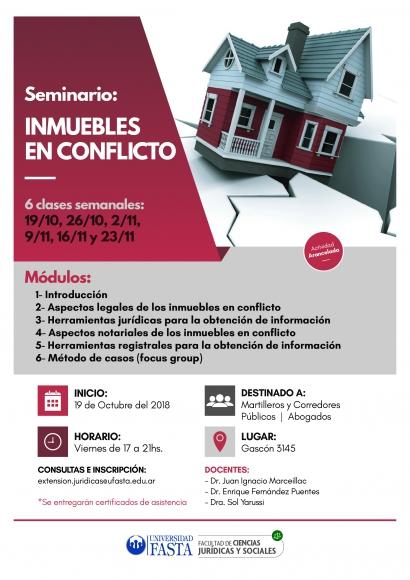 Seminario Interdisciplinario: Inmuebles en Conflicto