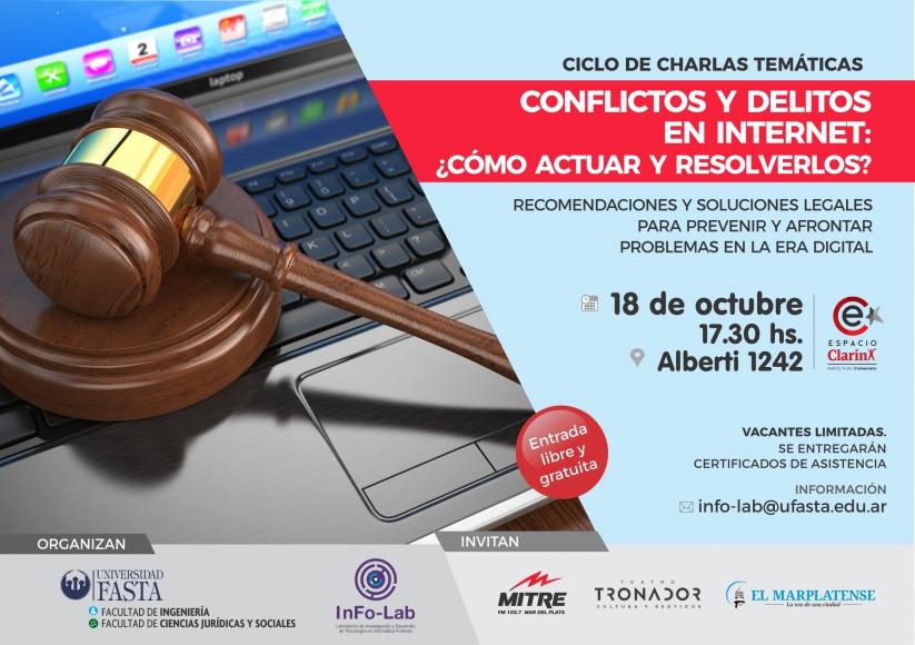 Conflictos y delitos en Internet ¿Cómo actuar y resolverlos?