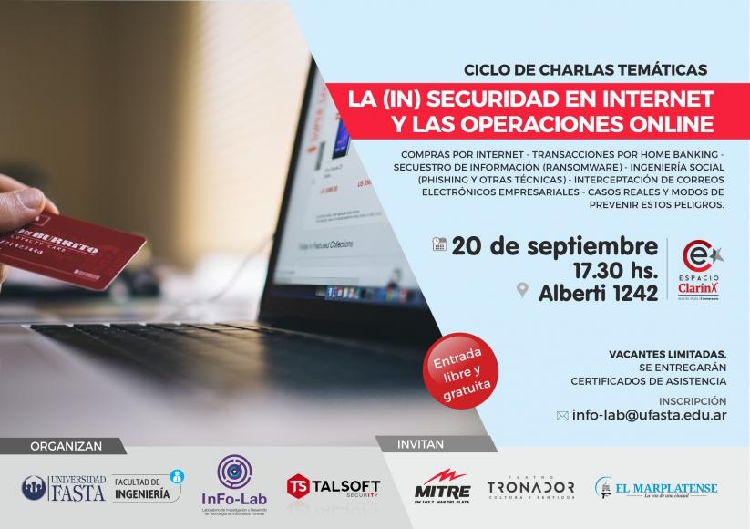Ciclo de charlas en el Espacio Clarín – Segundo encuentro: La (in)seguridad en Internet y las operaciones online