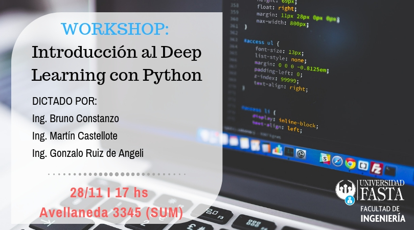 WORKSHOP - Introducción al Deep Learning con Python