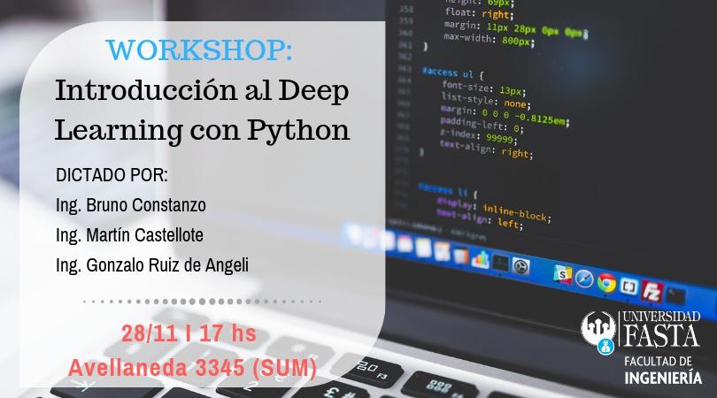WORKSHOP - Introducción al Deep Learning con Python