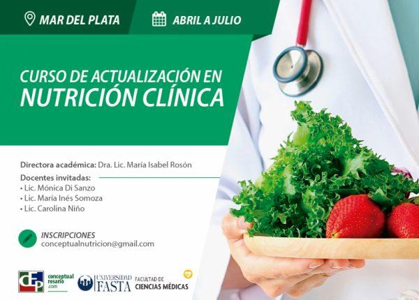 CURSO DE ACTUALIZACIÓN EN NUTRICIÓN CLÍNICA