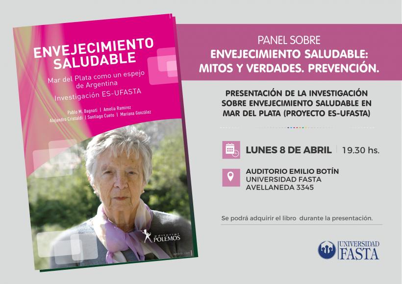 PANEL SOBRE ENVEJECIMIENTO SALUDABLE:  Mitos y Verdades. Prevención.