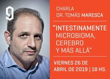 """Conferencia """"INTESTINAMENTE: MICROBIOMA, CEREBRO Y MÁS ALLÁ"""""""