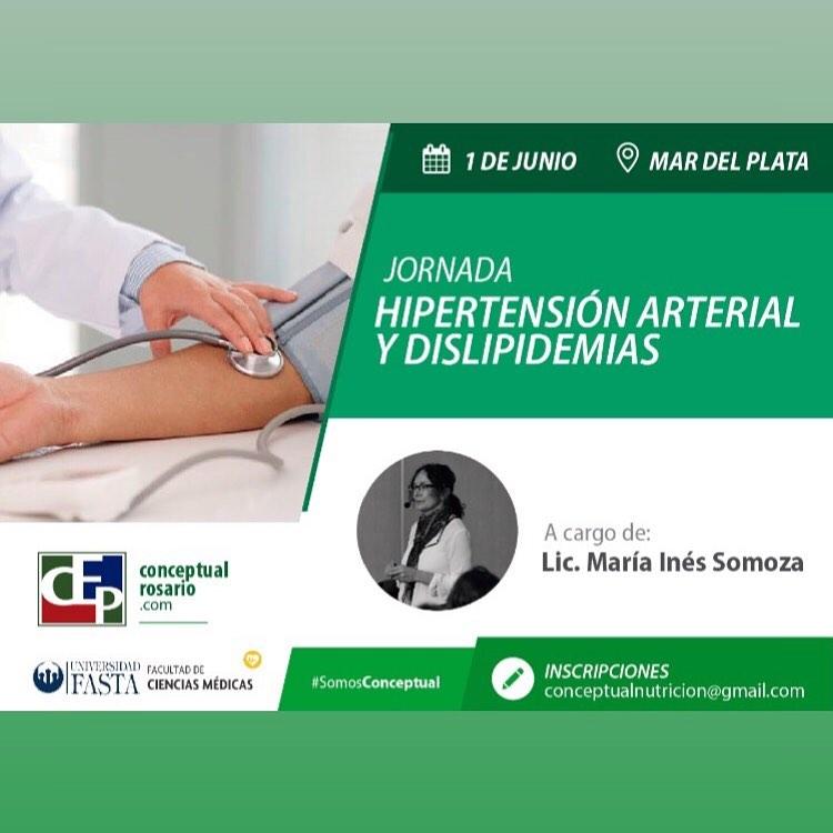 """Jornada """"Hipertensión Arterial y Dislipemias"""""""