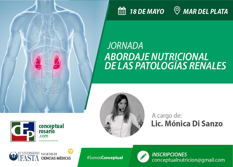 """Jornada """"Abordaje Nutrición de las Patologías Renales"""""""