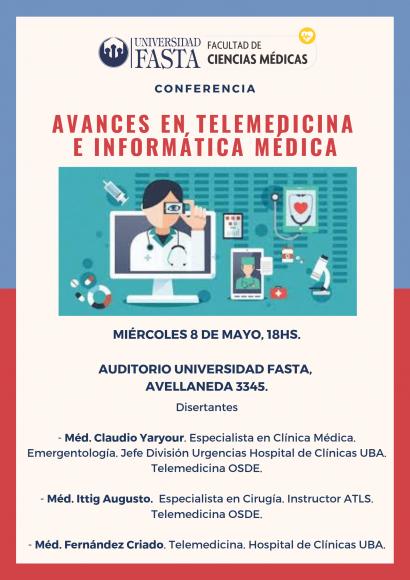 """Conferencia """"Avances en Telemedicina e Informática Médica"""""""