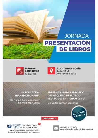 Jornada de Presentación de Libros
