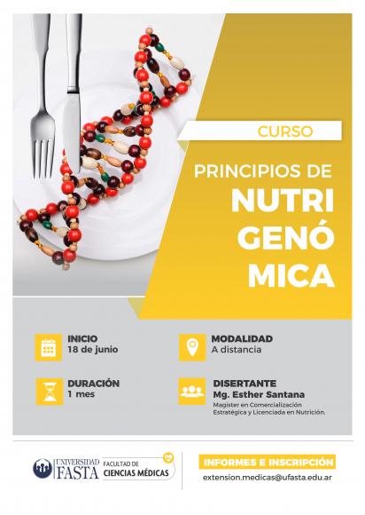 Actualización Principios Básicos de Nutrigenómica