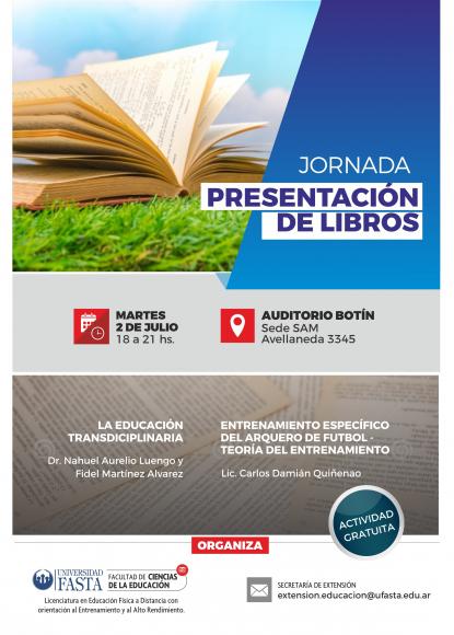 Jornada Presentación de Libros