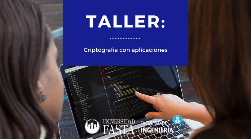 TALLER - Criptografía con aplicaciones