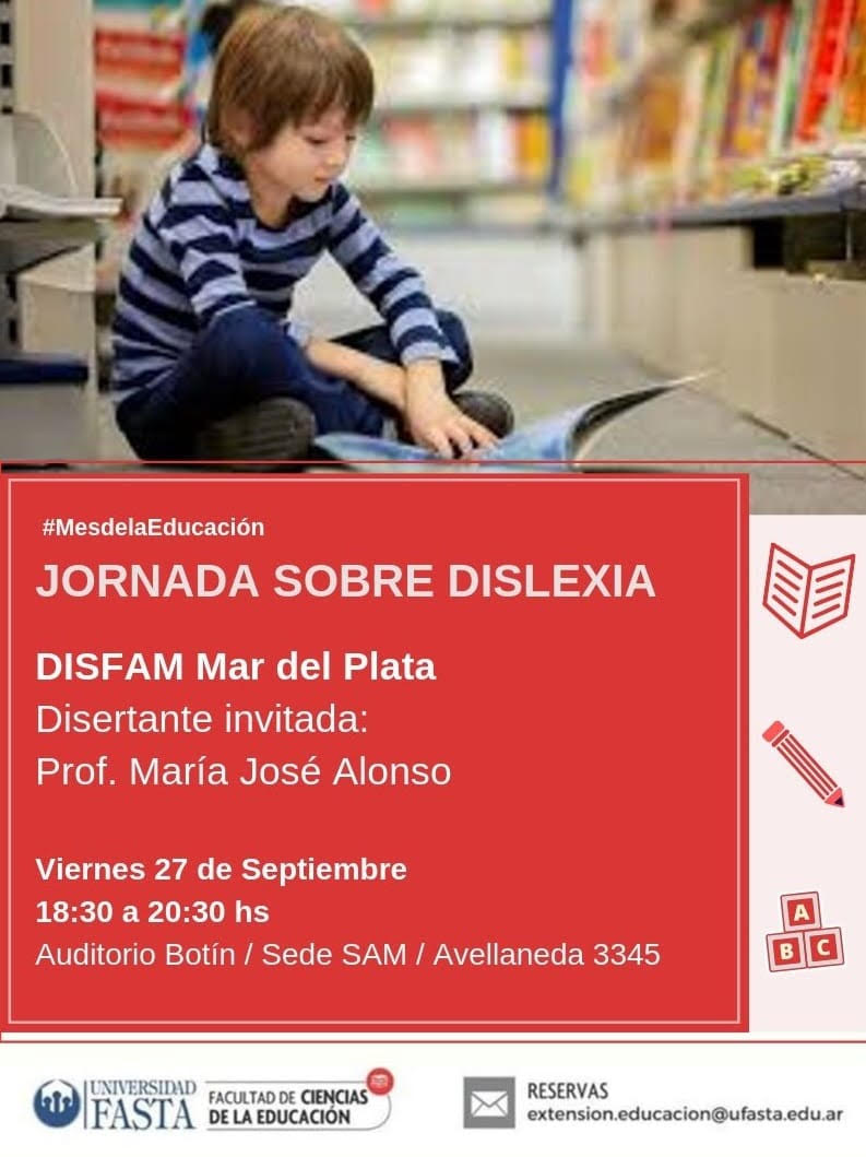 El Mes de la Educación: Jornada Sobre Dislexia