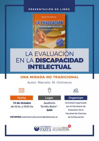 Presentación de Libro: La Evaluación en la Discapacidad Intelectual
