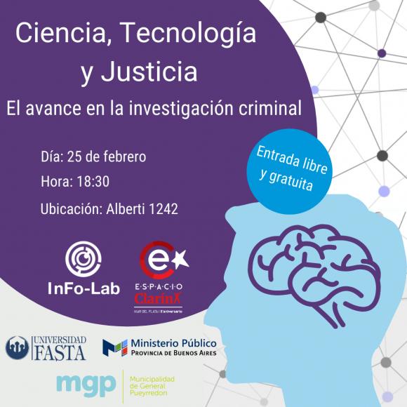 CHARLA - Ciencia, Tecnología y Justicia: El avance en la investigación criminal