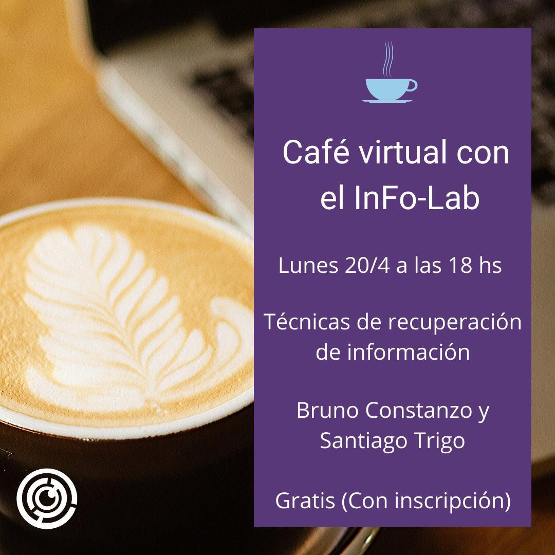 Cafévirtual con el InFo-Lab: Técnicas de recuperación de información