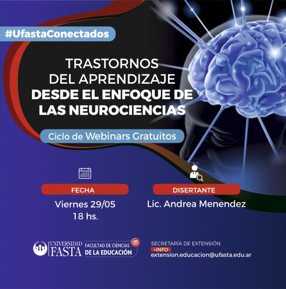 """Webinar """"Trastornos del Aprendizaje desde el Enfoque de las Neurociencias"""""""