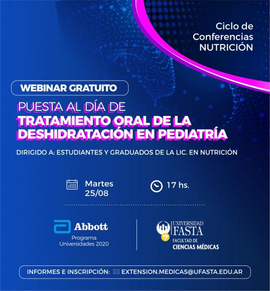 Webinar - Tratamiento Oral de la Deshidratación en Pediatría