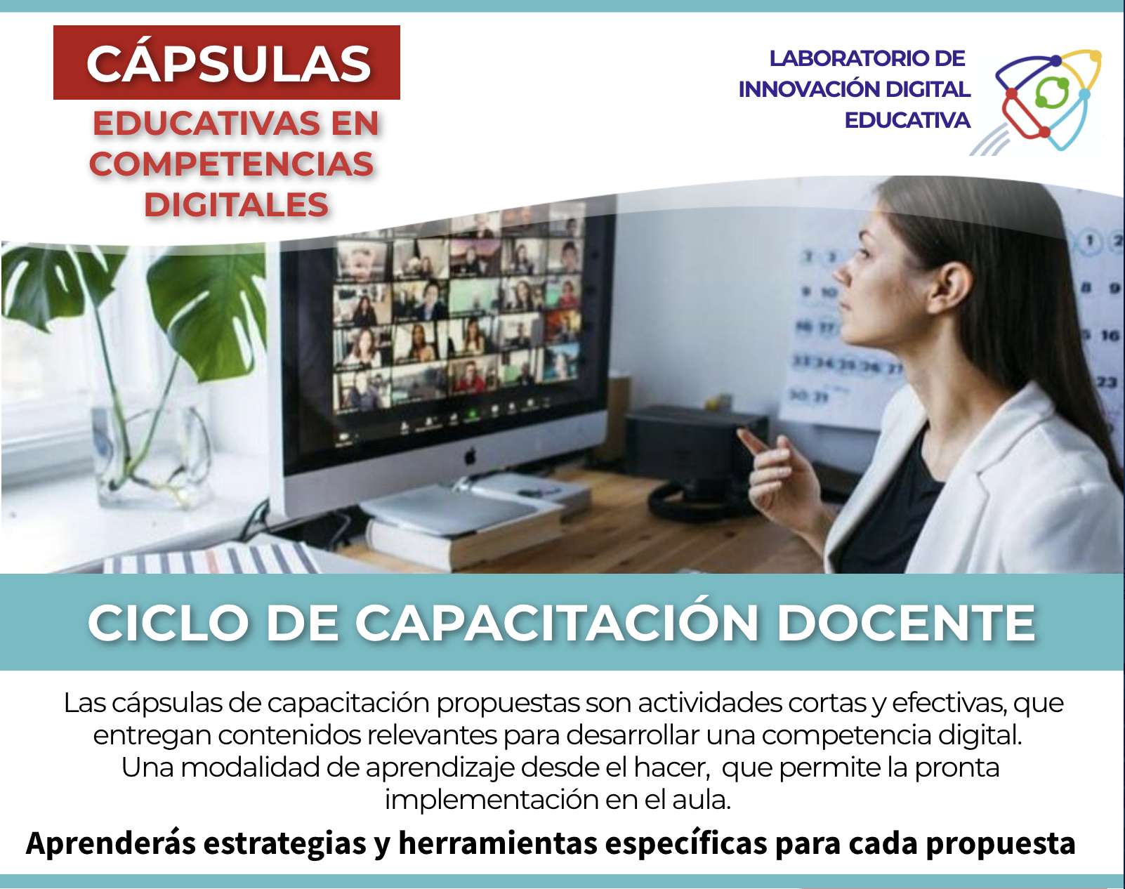 Cápsulas Educativas en Competencias Digitales