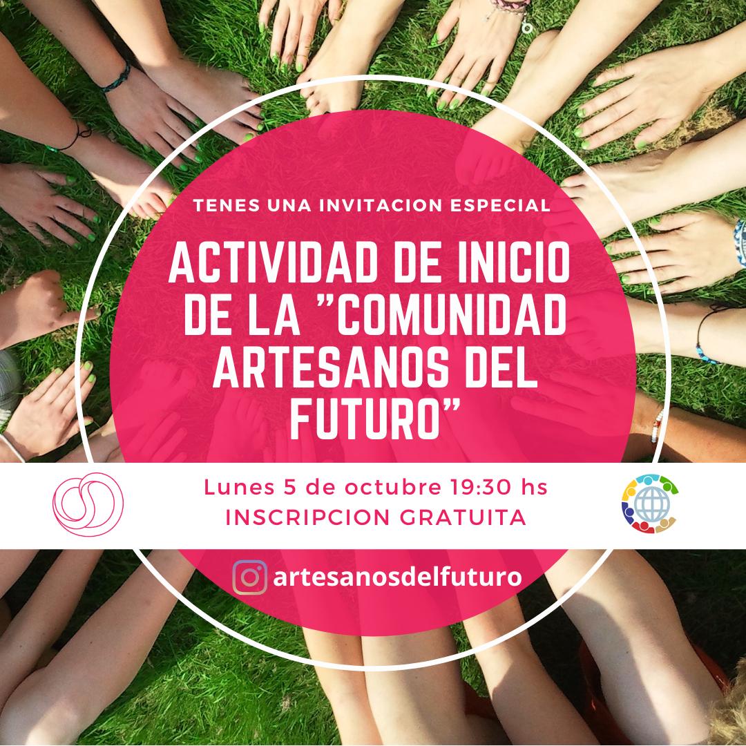 """Actividad de Inicio """"Comunidad Artesanos del Futuro"""""""