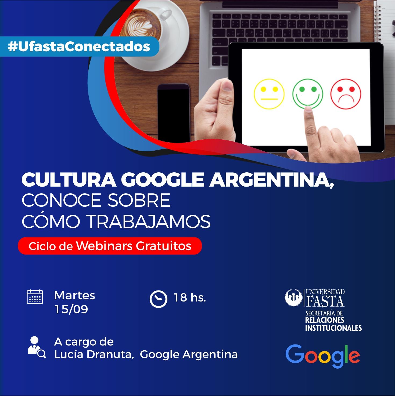 Webinar Cultura Google Argentina
