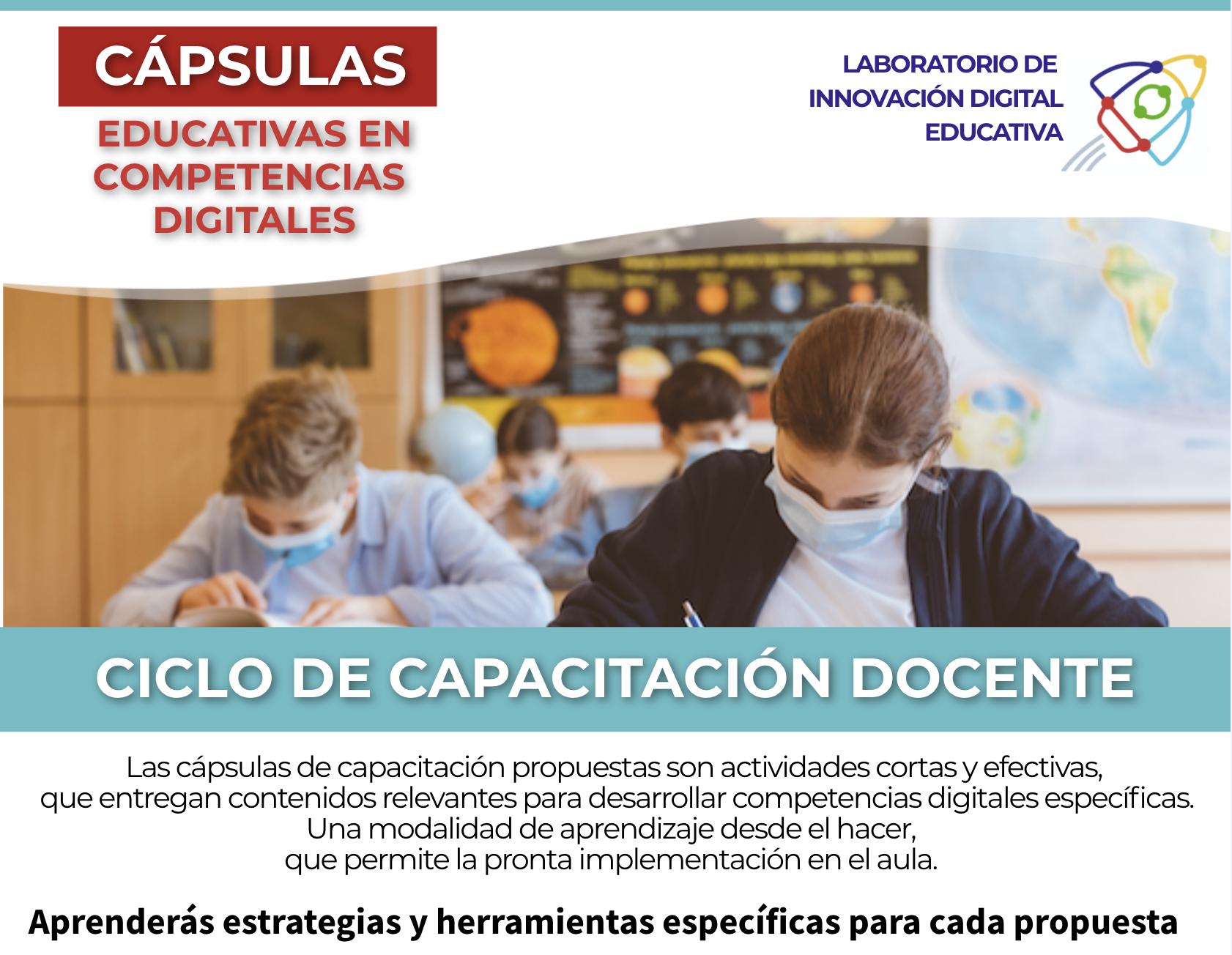 Cápsulas Educativas en Competencias Digitales