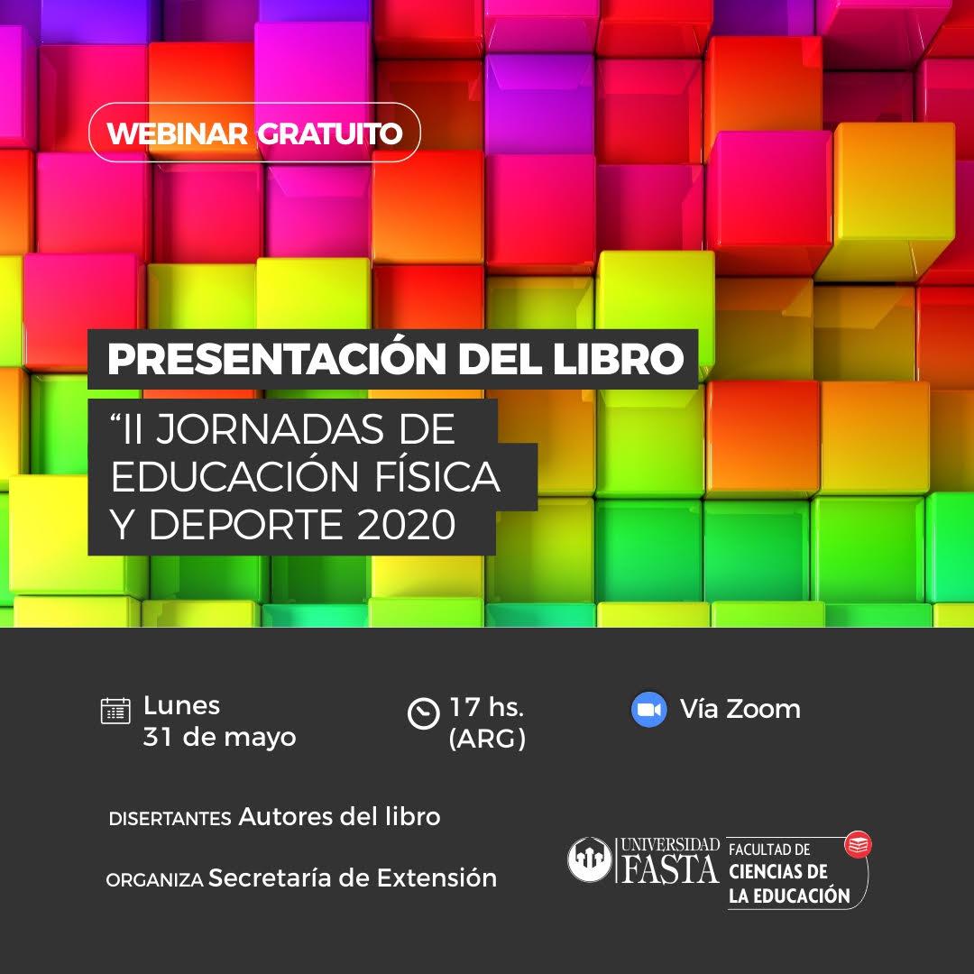 """Presentación del Libro: """"II Jornadas de Educación Física y Deporte 2020"""""""