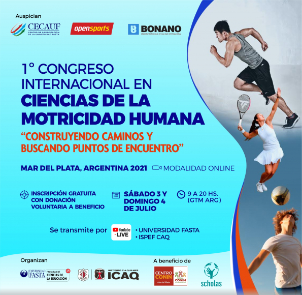 Primer Congreso Internacional en Ciencias de la Motricidad Humana