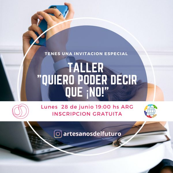 """Taller """"Quiero decir que ¡NO!"""" - Comunidad Artesanos del Futuro"""