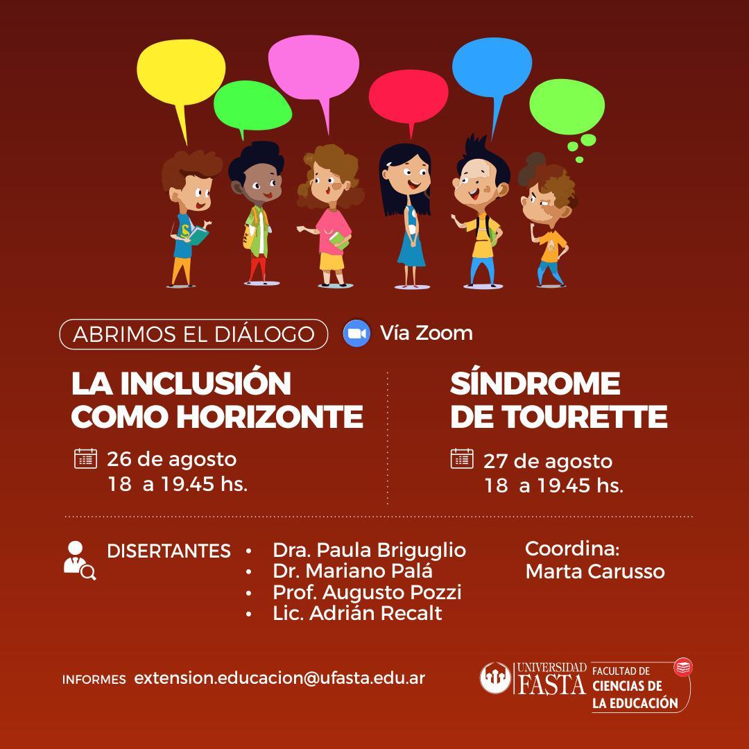 La Inclusión como Horizonte - Síndrome de Tourette