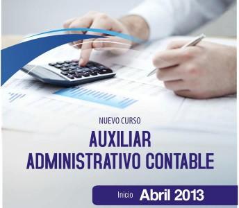 auxiliar admn contable