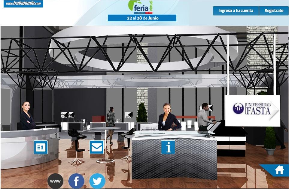 La ufasta participa de una feria virtual de empleo y formaci n for Ina virtual de empleo
