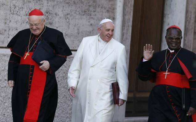 papa + cardenal