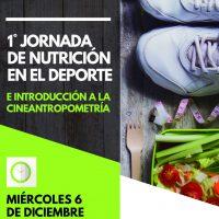 Afiche Jornada de nutricion en el deporte111